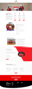 Northern Beaches Floorball Web Design