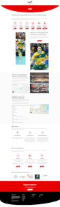 Northern Beaches Open Landing Page Design
